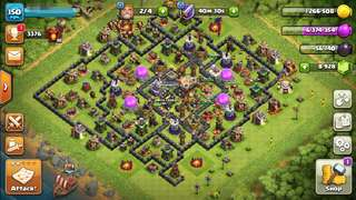 COC TH11 Level150 with 9000 Gems (already cost $98)  for Sale