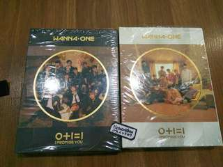 Wanna One I Promise You Album ONLY DAY NIGHT