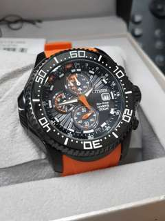 Citizen Eco Drive BJ2119 星辰 光動能 99.9%新