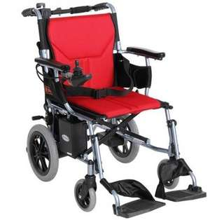 出租電動輪椅,前後雙重控制,可摺疊