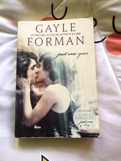 Gayle Forman Just One Year Storybook