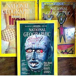 National Geographic Magazines (Bundle)