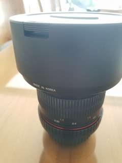 Samyang14mm Ultra Wide-Angle f2.8 IF ED UMC Lens for Canon EF Mount