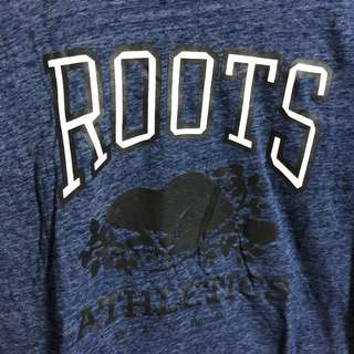🚚 Roots深藍上衣