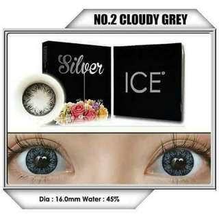 SOFTLENS ICE SILVER CLOUDY GREY By X2/EXOTICON
