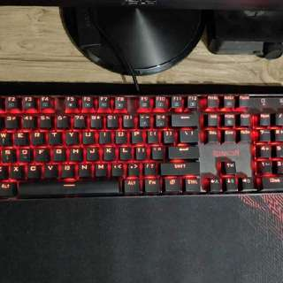 Redragon Vara Mechanical Gaming Keyboard (Red)