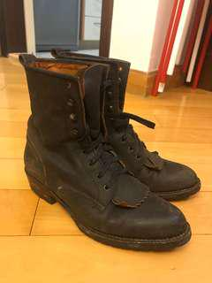 FRYE Leather Boots 皮靴 購自連卡佛