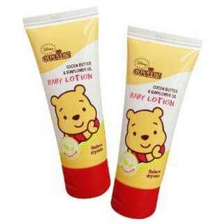 Disney Winnie the Pooh baby lotion