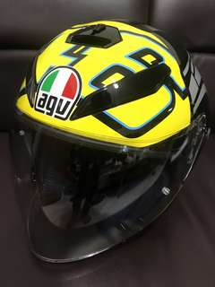 In stock Agv k5 jet rossi winter test