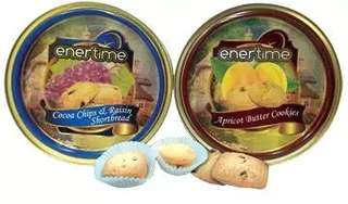 EnerTime - Cocoa Chips / Apricot Butter Cookies