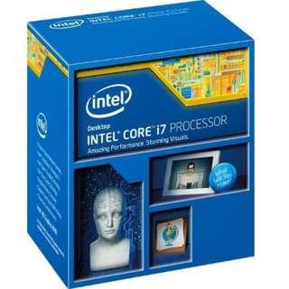 Intel LGA 1150 Haswell i7, Samsung DDR3 Desktop RAM