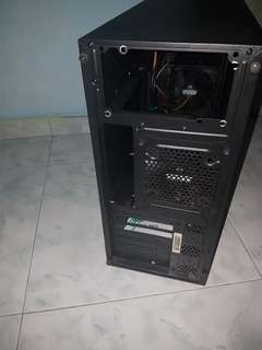 Desktop gaming pc case