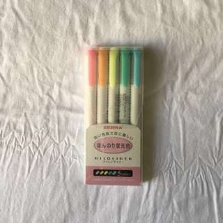 Zebra Mildliner Pastel Double-Ended Highlighter