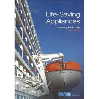 🚚 Life Saving Appliances including LSA Code 2017 Edition ( IMO Books IE982E)