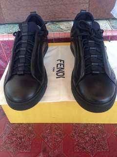 Fendi Monster Lace Up Low