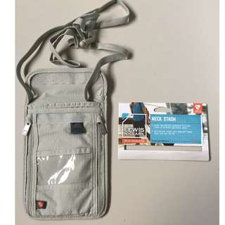 Original Lewis N. Clark RFID Security Travel Passport Wallet