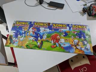 🚚 IDW Sonic the Hedgehog #1-4 (all Cover A)
