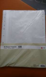 Brand new A4 sheets protector - 100 sheets pack