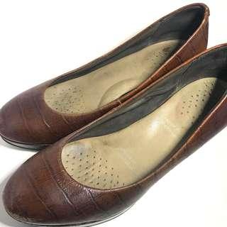 Rockport Snakeskin Leather Heels
