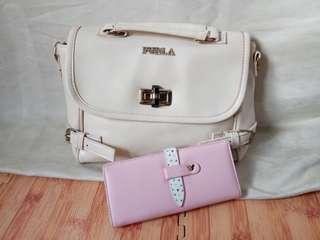 Set tas+dompet baru NETT