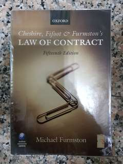 Cheshire Fifoot & Furmston's Law of Contract