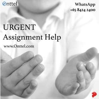 Urgent Assignment Help