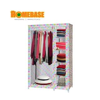 HOMEbase Modern Roll Up Curtain Clothes Wardrobe (JH-F8005)