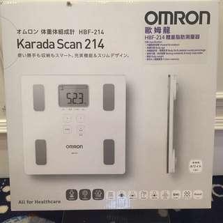 減肥瘦身必用!全新日本Omron 全能體重脂肪磅