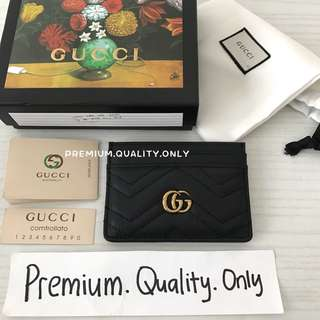 Customer's Order GG Marmont Card Holder