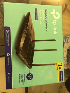 TP link Router Dual Band AC1200 Wireless
