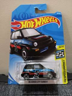Hot Wheels 85 Honda City Turbo 2