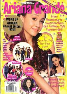 Teen Dream magazine Ariana Grande