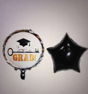 <In-stock>Graduation 🎓 balloons with helium
