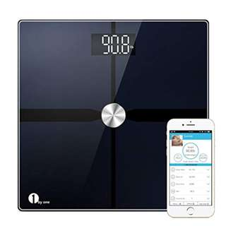 356 (Brand New) byone Bluetooth Body Fat Scale with IOS and Android App, Smart Digital Bathroom Weight Scale, Body Composition Analyzer