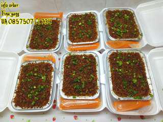 Hampan/talam ebi makanan khas skw