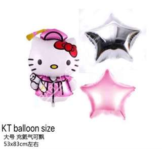 <In-stock> Graduation balloon bouquet with Helium -KT