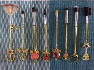 Brand New 8pcs Sailormoon Brush Set