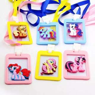 My little pony card holder