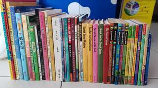 From $1. Geromino Stilton. ben 10, the incredible. Secret seven, intergrated science systems level 2,save the flowers, horrid henry, harry and the dinosaurs, Chinese composition guide book pri 5 6 PSLE etc...