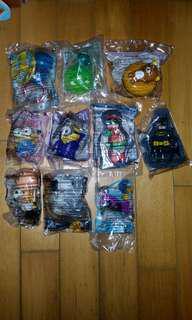 麥當奴玩具 多款 散要 $10-15@