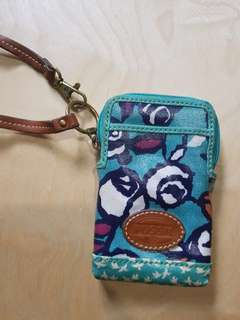 Fossil Green Small Pouch