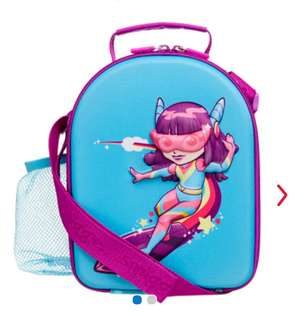 BN Smiggle Out of this world hardtop lunchbox with strap