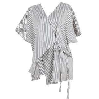 Shopatvelvet striped kimono