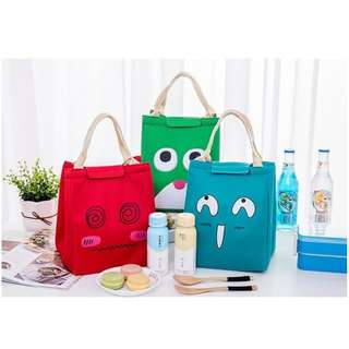 JUAL COOLER BAG BONUS 2 JELLY ICE LUNCH BAG MURAH