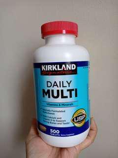 Kirkland Daily Multi Vitamins & Minerals