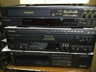 Jual borongan Betamax dan Laseedics barang on