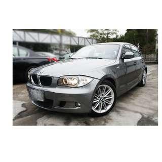 2010年  BMW  120D   灰  ✅0頭款 ✅免保人✅低利率✅低月付 FB搜尋:阿源 嚴選二手車/中古車買賣
