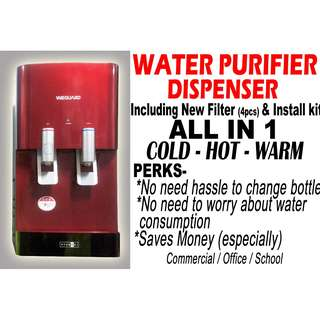 Water Dispenser Purifier (Direct Pipe)