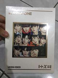 [WTS] WANNA ONE UNDIVIDED 'WANNA ONE' VER