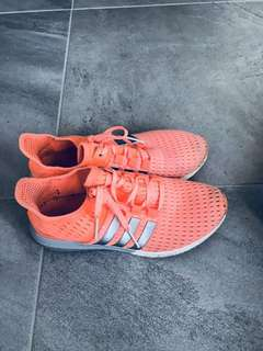 Orange Special Adidas running shoes